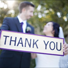 Christine & Brian's Scrabble Love Wedding