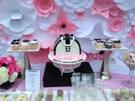 Chanel Themed 70th Birthday Bash