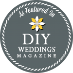 As Featured in DIY Weddings Magazine Issue 26