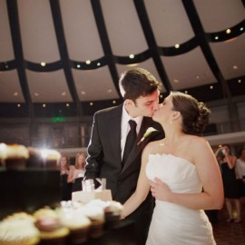 K+M Modern Skirball Center Wedding