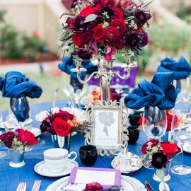 Coraline Inspired Wedding Styled Shoot