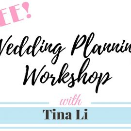 Los Angeles Free DIY Wedding Planning Workshop
