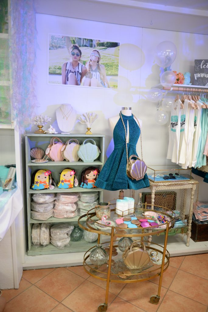 Sincerely Sweet Boutique Mermaid Popup Shop