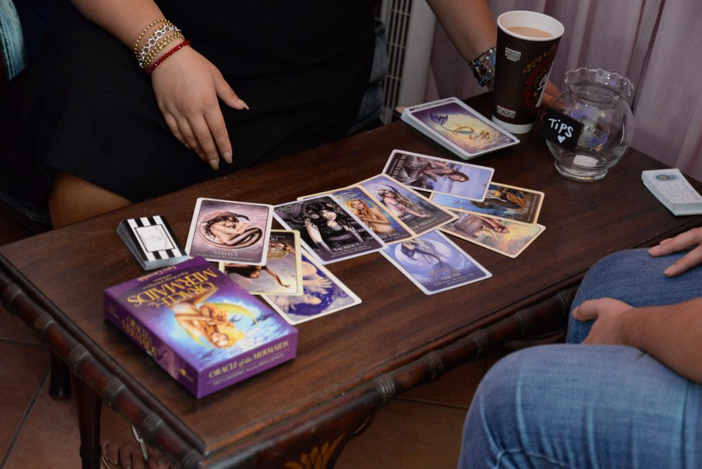 Mermaid Oracle Card Reading Tarot Reading Pop-up Shop Entertainment