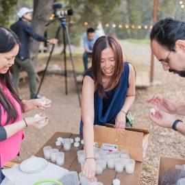 DIY Woodland Ethereal Wedding Inspiration – Behind the Scenes