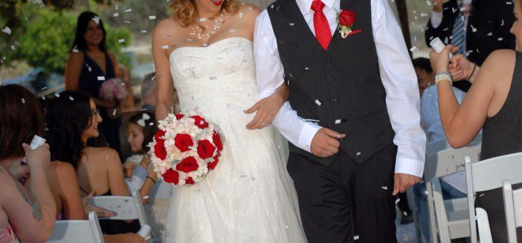 Amanda & Baxter's Rustic Glam DIY Wedding