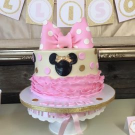 Allison's 4th Birthday Party – Pink and Gold Minnie Mouse Tea Party