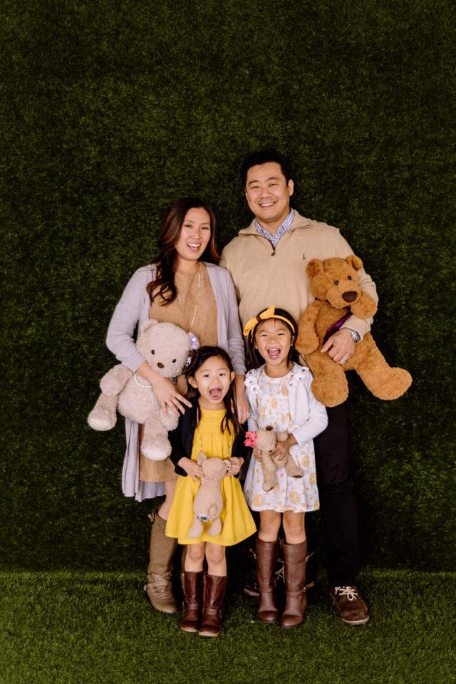 In the Clouds Events Wedding Planner Tina Li and Family