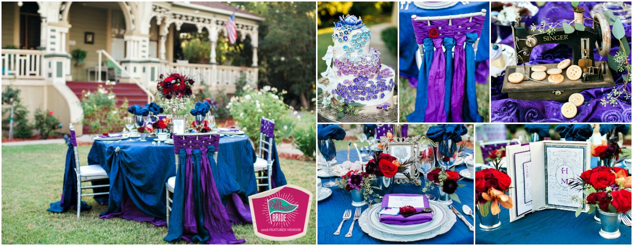 Coraline Inspired Wedding