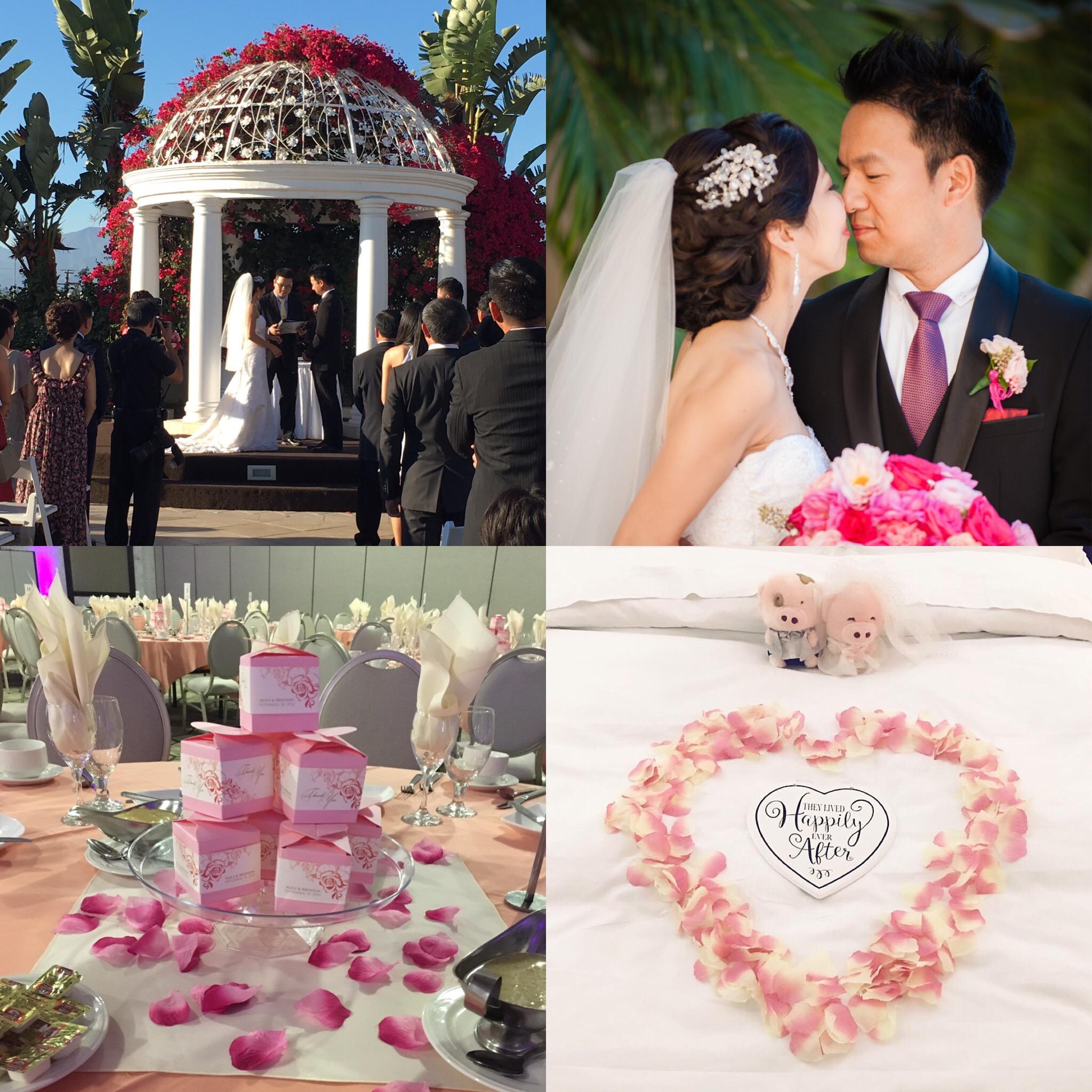 Chinese Wedding San Gabriel Hilton