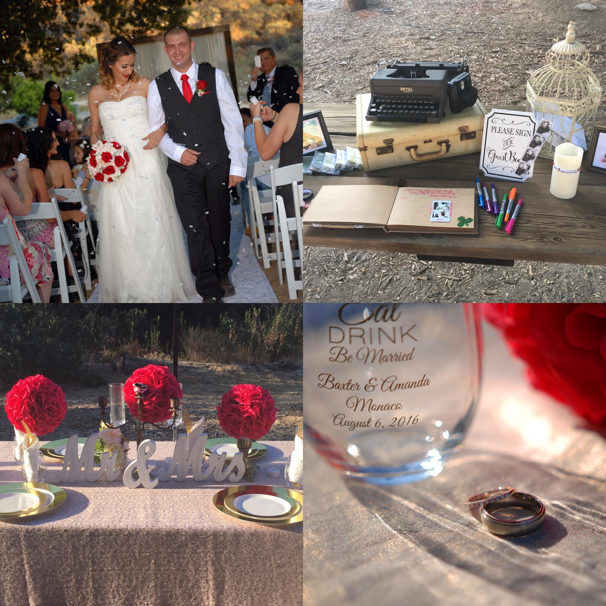 DIY Rustic Glam Wedding at Reptacular Animals Ranch