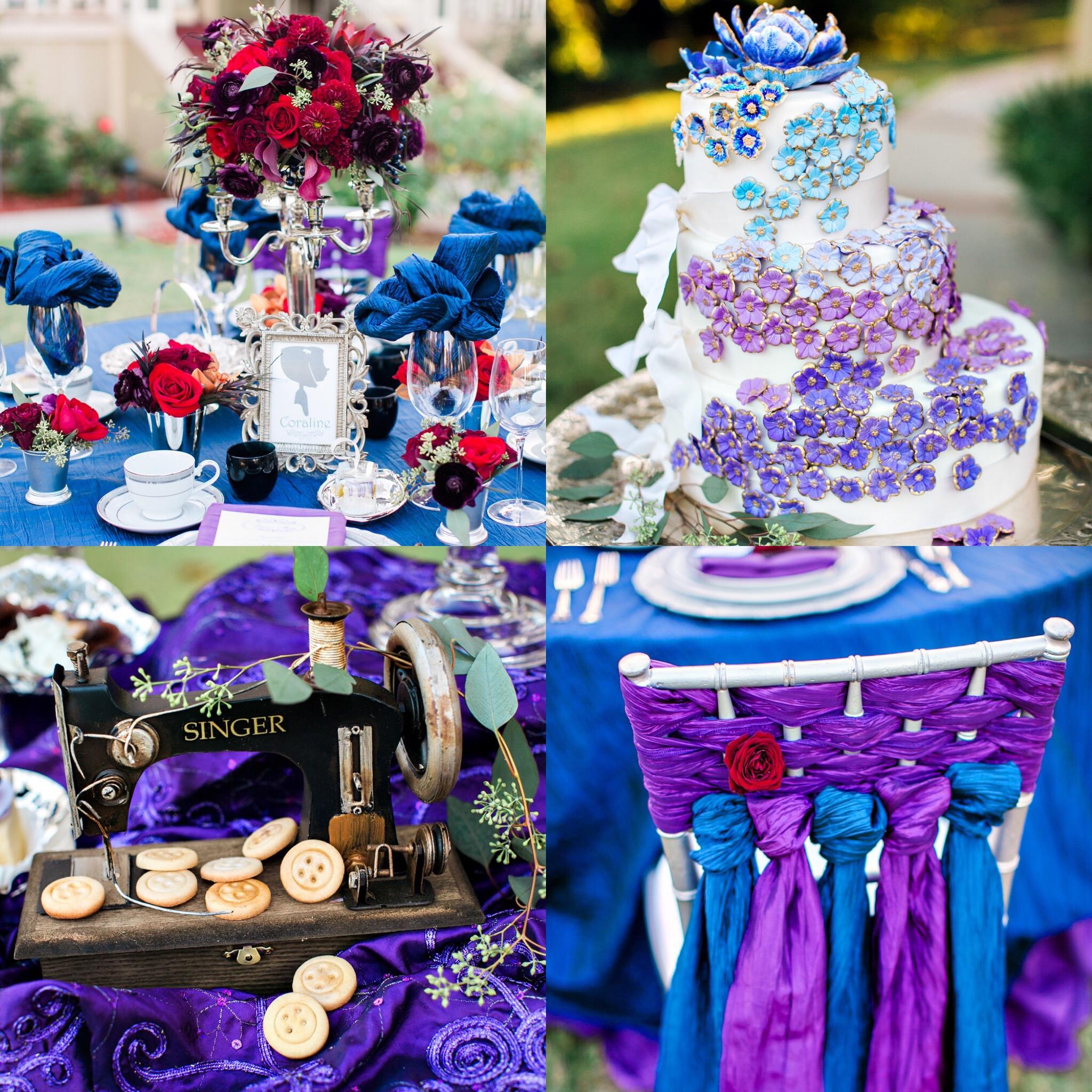 Coraline Inspired Wedding