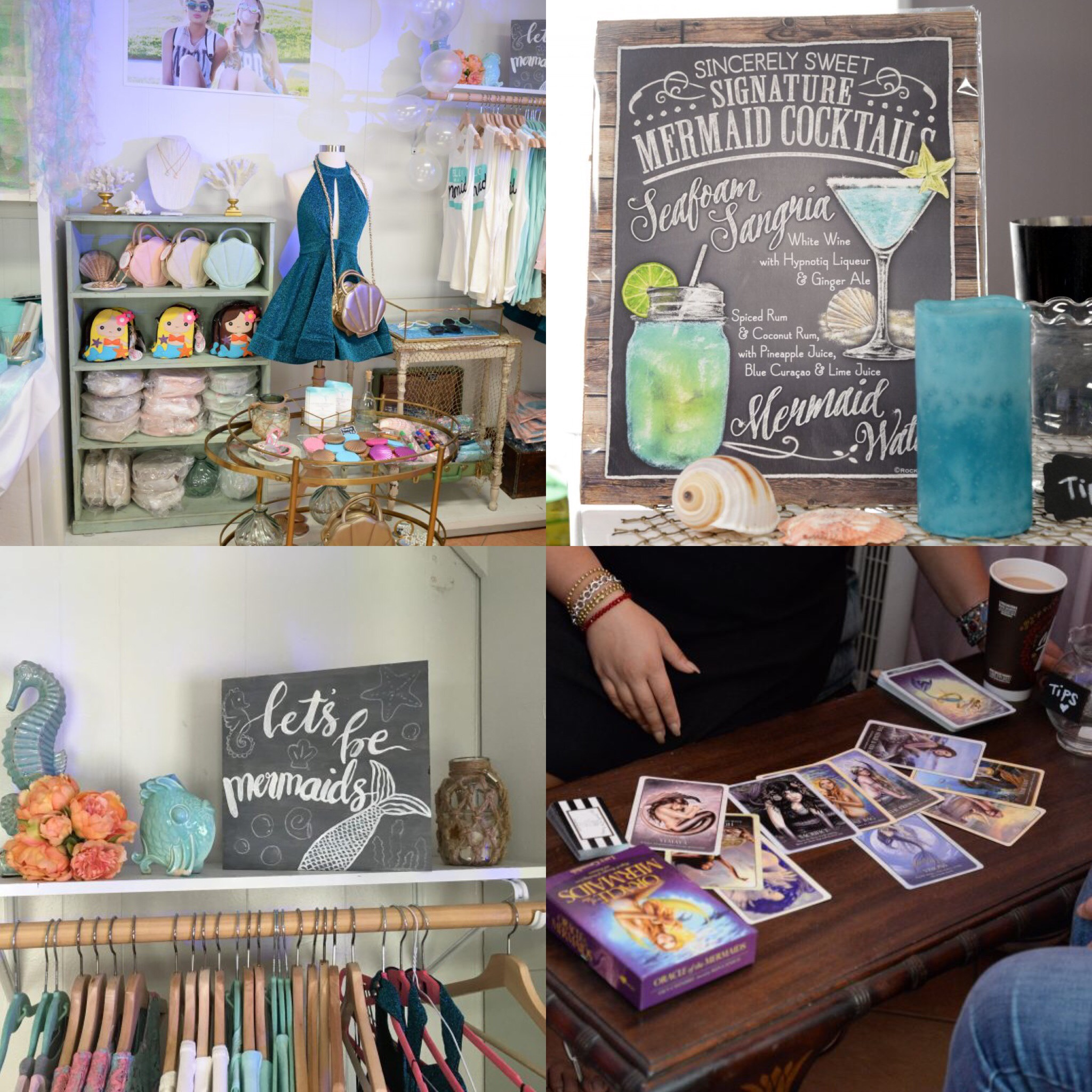 Sincerely Sweet Boutique Mermaid in Paradise Pop-up Shop