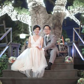 Amy & Jacob's Secret Garden Wedding in Pasadena, California