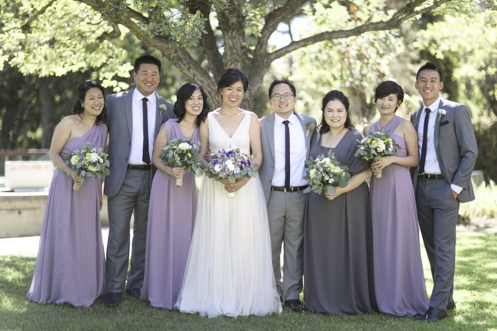 Amy & Jacob Secret Garden Pasadena Wedding Party