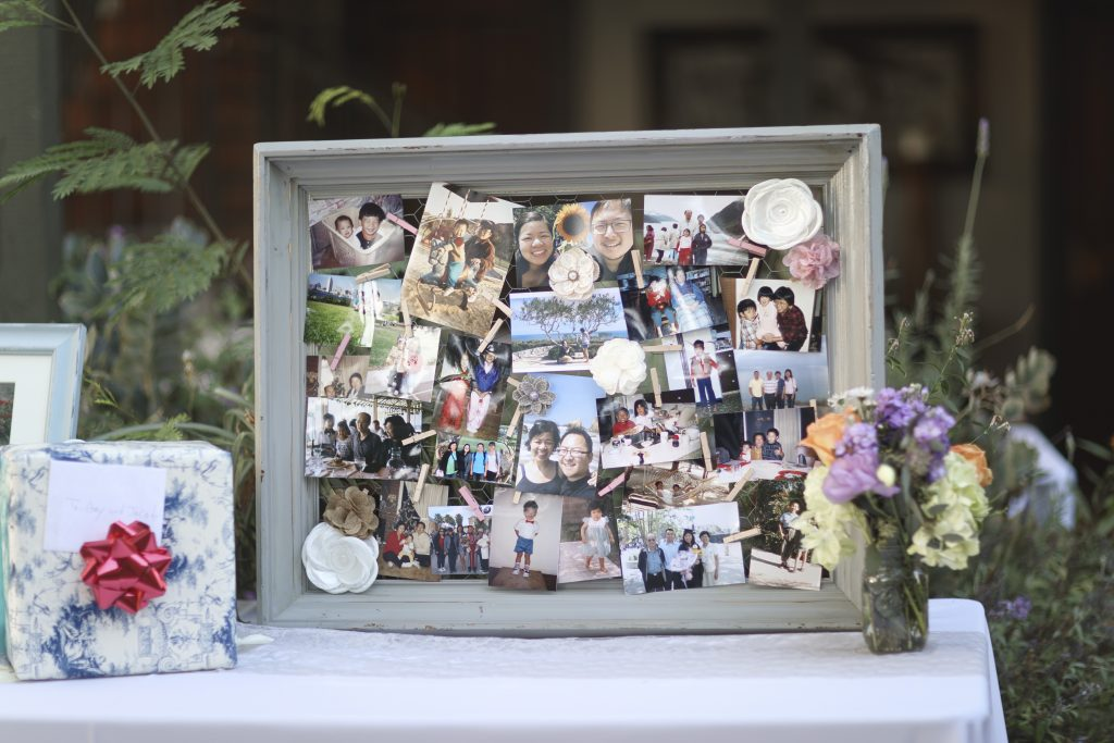 DIY Wedding Photo Frame