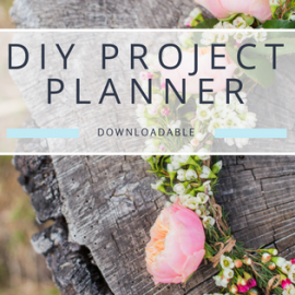 DIY Wedding Project Planner – Free Worksheet Download
