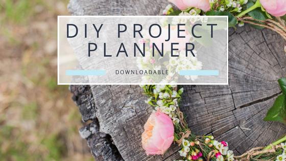 DIY Wedding Project Planner – Free Worksheet Download