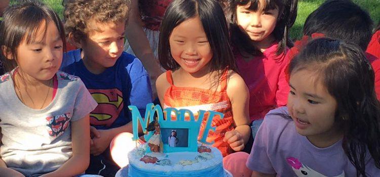 Moana Birthday Party at the Park