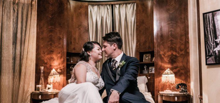 Emi & Rob's Vintage Glam Downtown LA Wedding