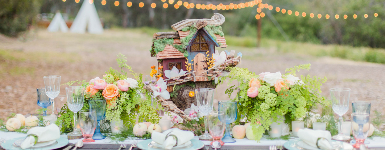 Dreamy Fairy Inspired Wedding