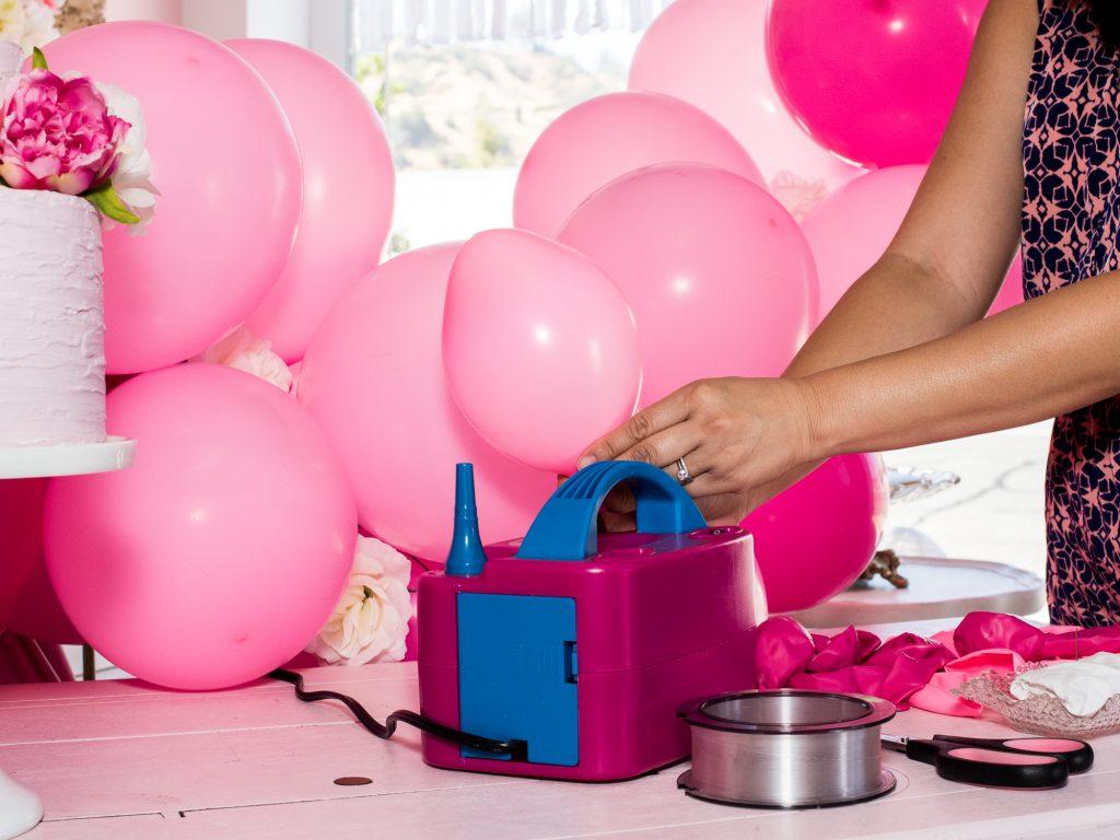 Electric Balloon Pump for Making Balloon Garland