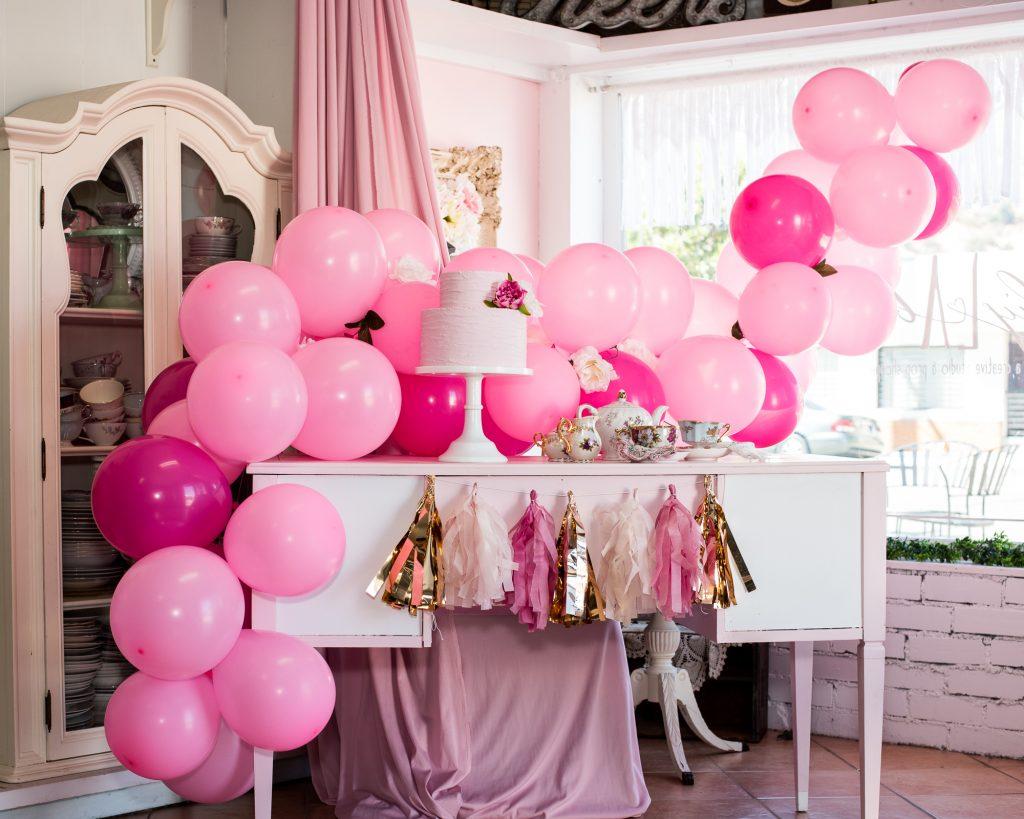Pink Balloon Garden for Parties