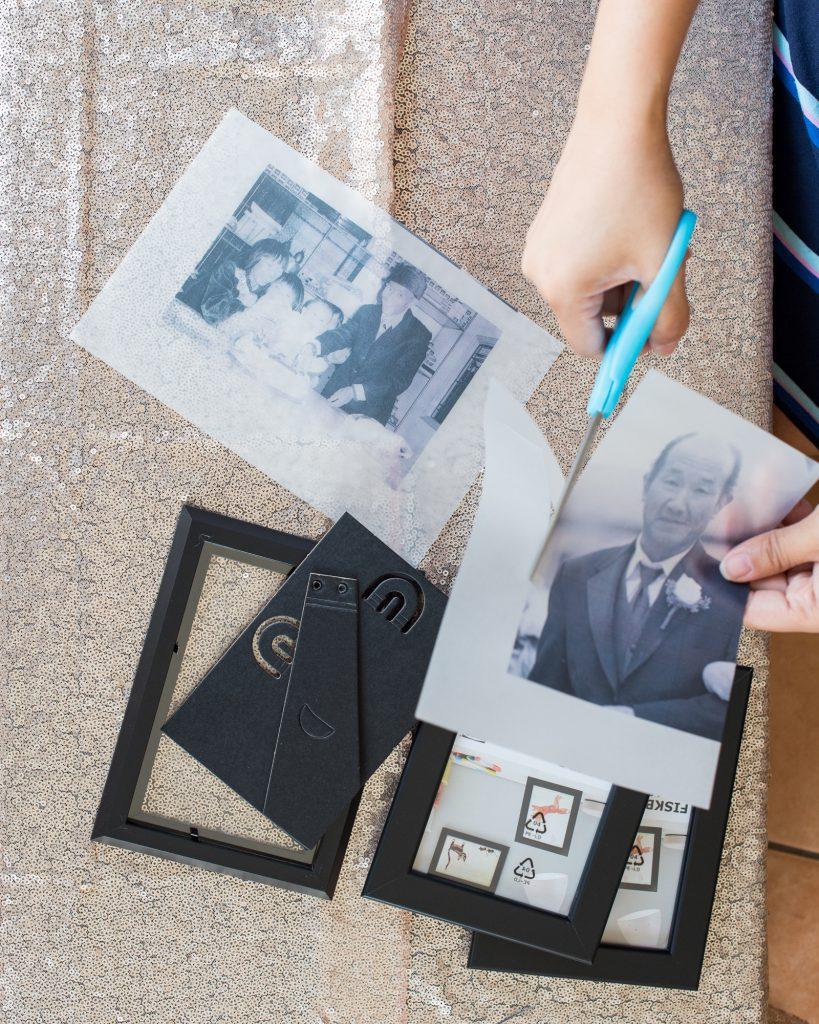 DIY Memorial Photo Luminary Tutorial Vellum Photo
