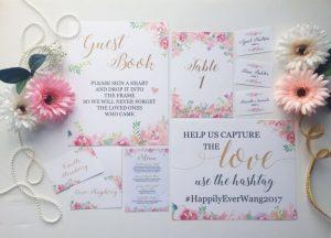 La Design Boutique Romantic Wedding Invitation Designs